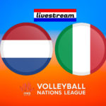 Volleybal Nations League live stream Nederland – Italië