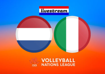 Volleybal Nations League live stream Nederland - Italië