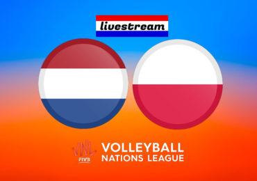 Volleybal live stream Nederland - Polen