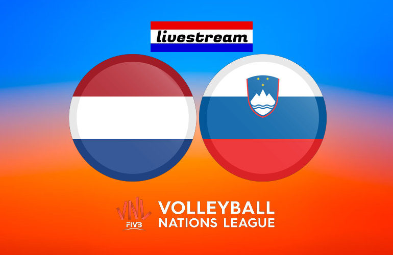 Volleybal live stream Nederland - Slovenië