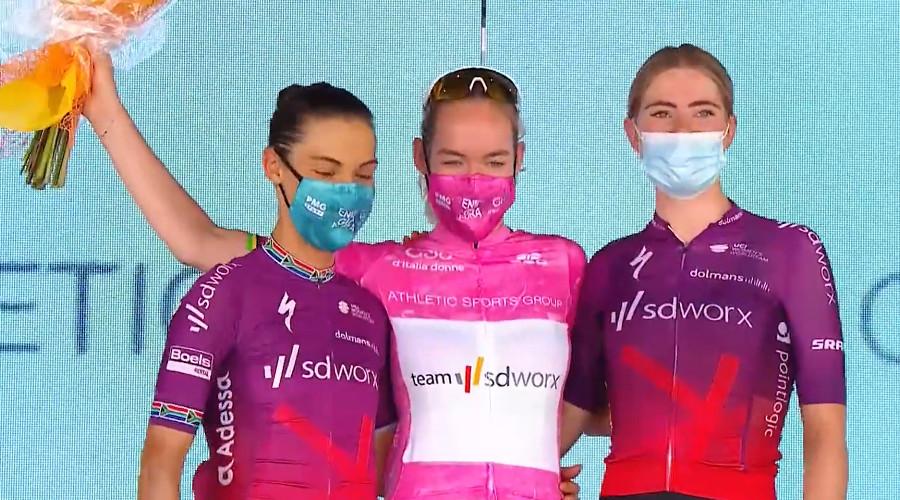 Anna van der Breggen wint Giro Donne