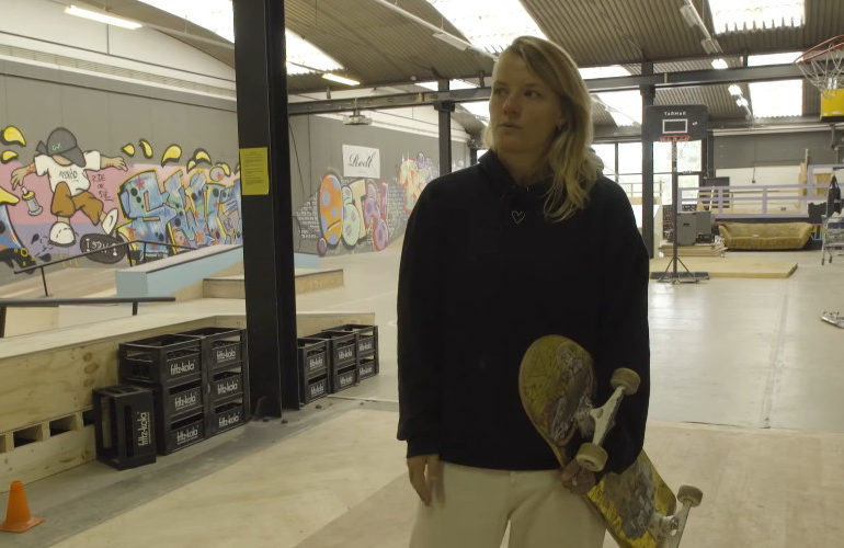 Skateboardster Candy Jacobs test positief