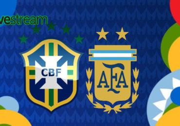 Copa América live stream Brazilië - Argentinië