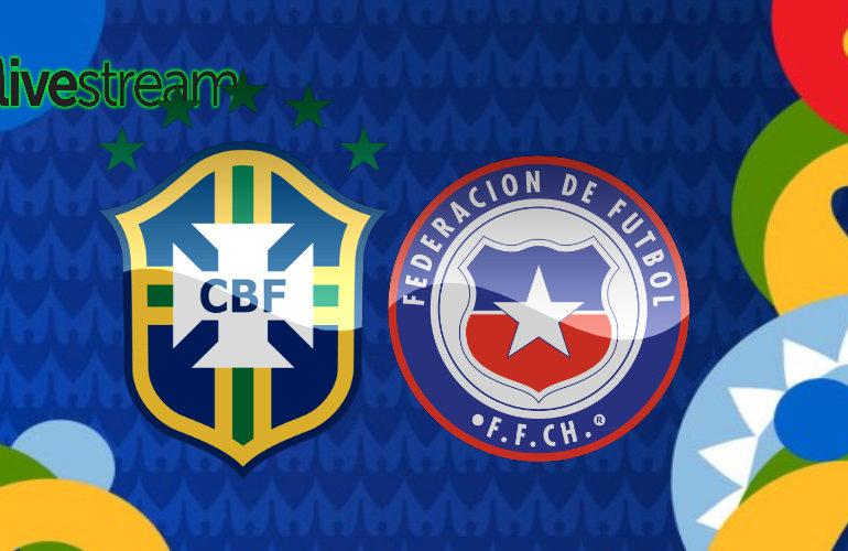 Copa América live stream Brazilië - Chili