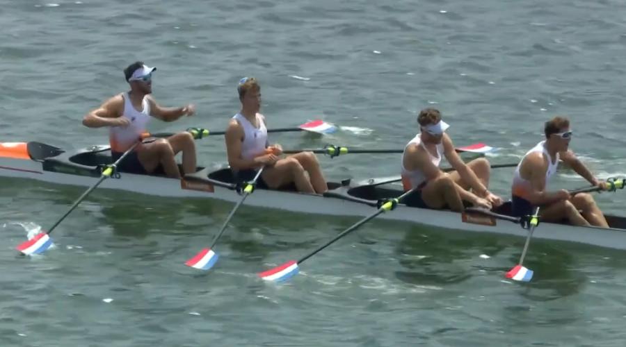 Dubbelvier pakt Olympische goud in Tokio