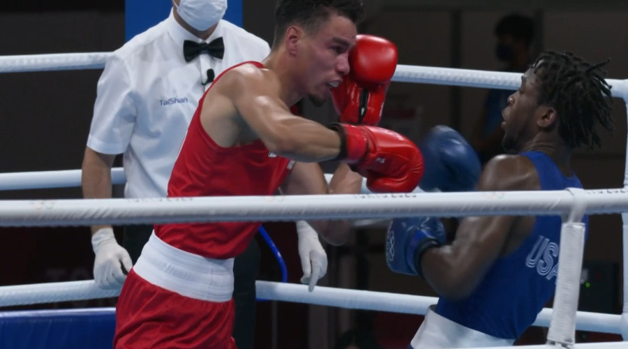 Enrico Lacruz uitgeschakeld in bokstoernooi