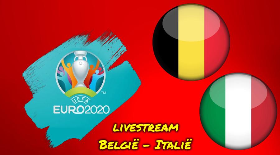 Euro 2020 live stream België - Italië