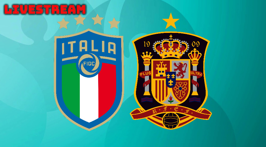 Euro 2020 live stream Italië - Spanje