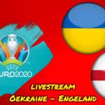Euro 2020 live stream Oekraine - Engeland