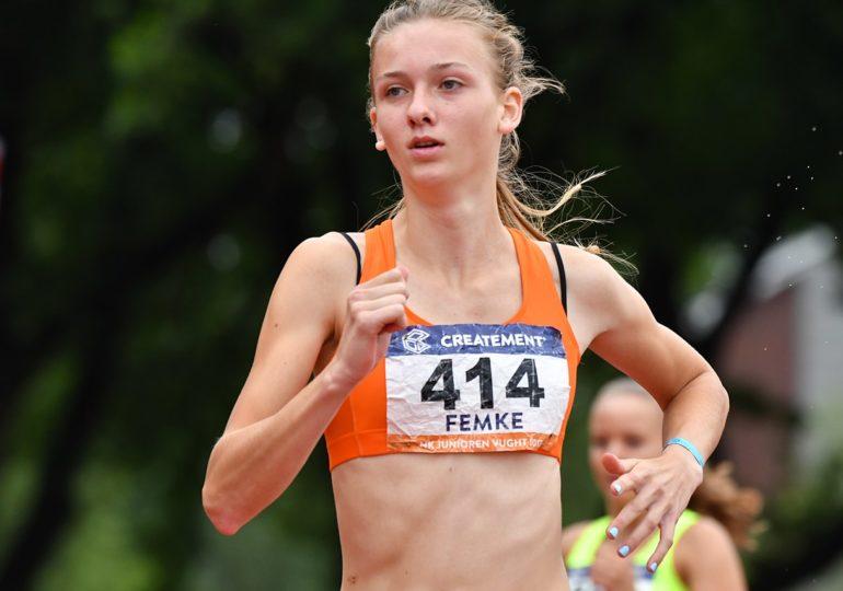 Femke Bol verpulvert record op 400 meter horden