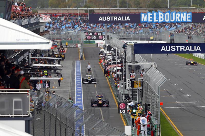 Formule 1 Grand Prix Australië (Foto Wikimedia Commons)