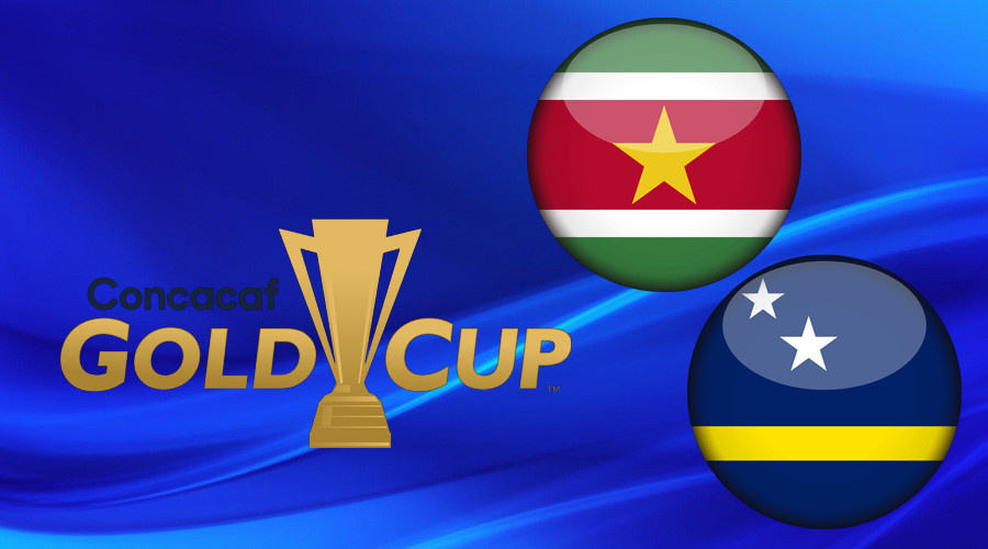 Gold Cup TV en live stream Suriname en Curaçao