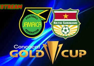Gold Cup live stream Jamaica - Suriname