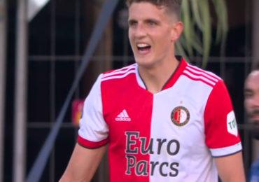 Guus Til loodst Feyenoord langs FC Drita