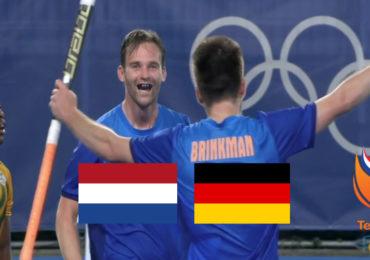 Hockey live stream Nederland - Duitsland