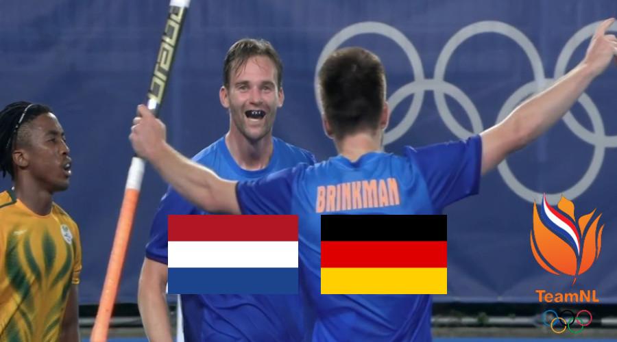 Hockey live stream Nederland - Duitsland Olympische Spelen Tokio 2020