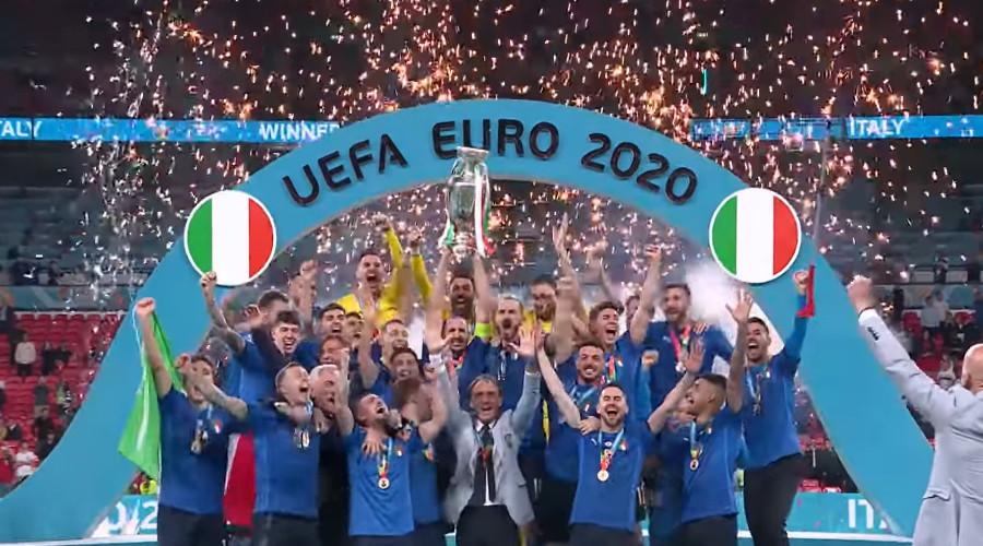 Italië verslaat Engeland in finale van het EK