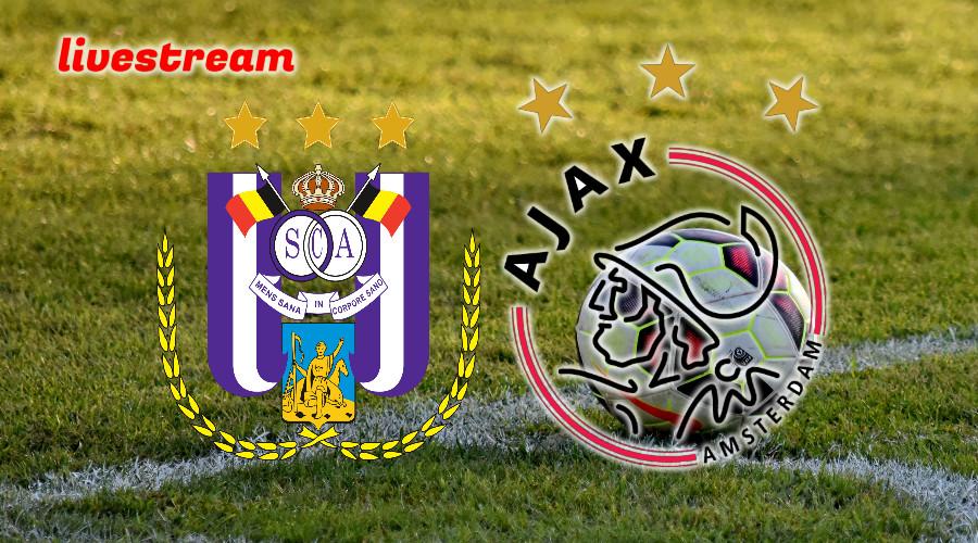 Live stream Anderlecht - Ajax