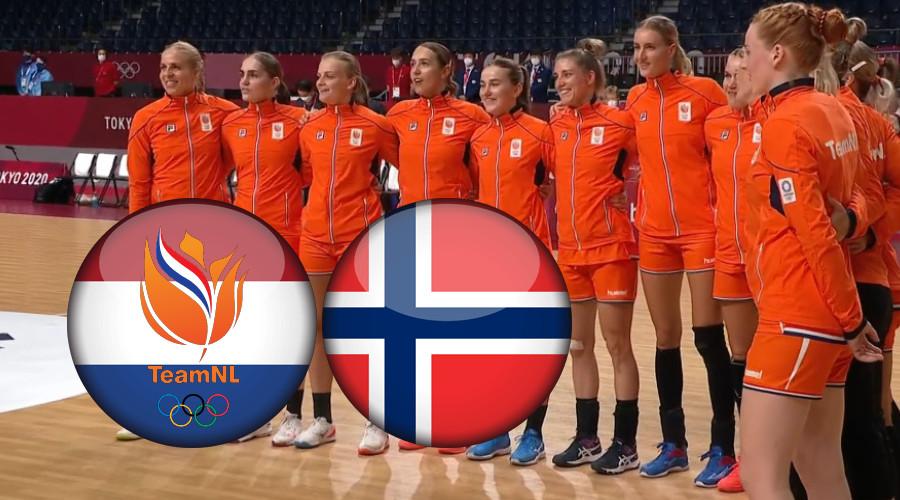 Live stream Nederland - Noorwegen Tokio 2020 handbal
