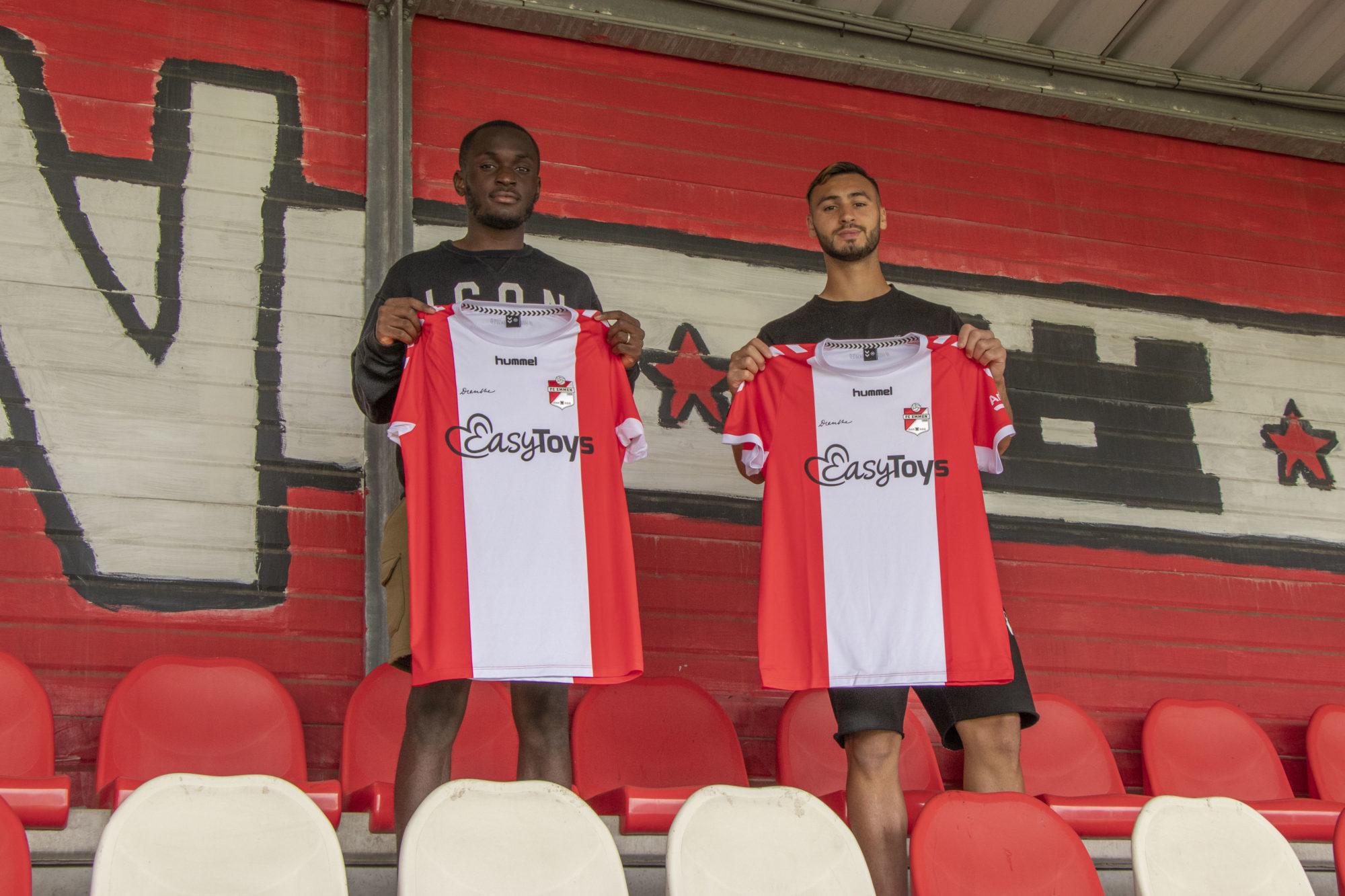 Luzayadio en Toufiqui naar FC Emmen