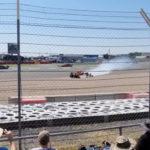 Max Verstappen crash Silverstone
