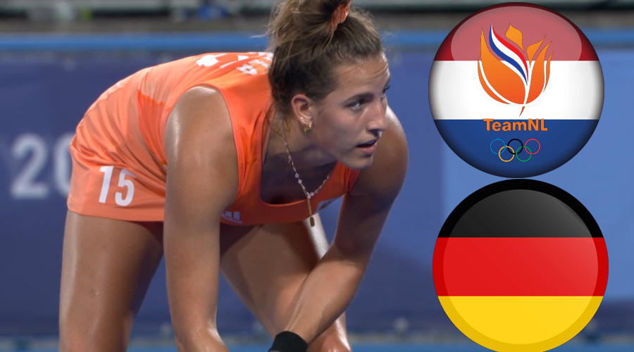 Nederland - Duitsland Tokio 2020 live stream