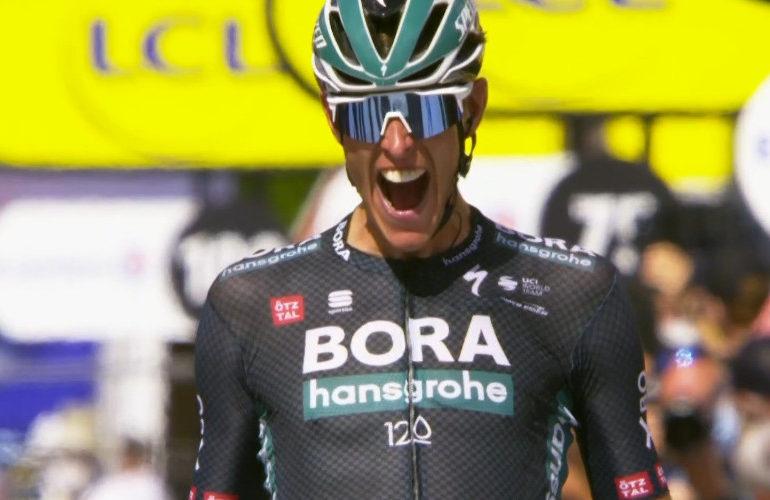 Nils Politt winnaar twaalfde etappe Tour de France