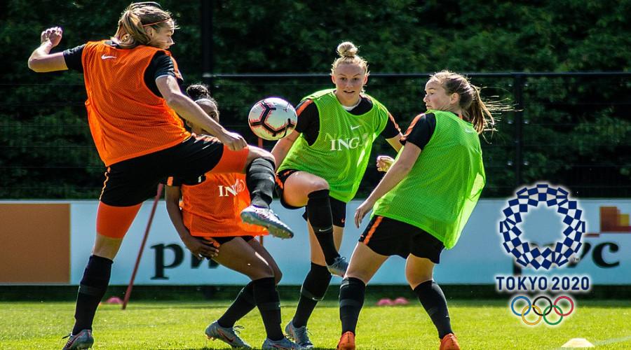 Olympische Spelen Voetbal programma Oranje Leeuwinnen