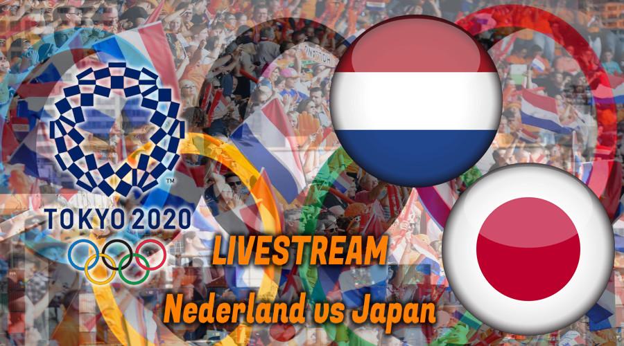 Olympische Spelen handbal live stream Nederland - Japan