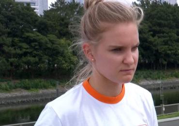 Roos Zwetsloot vijfde bij het skateboarden