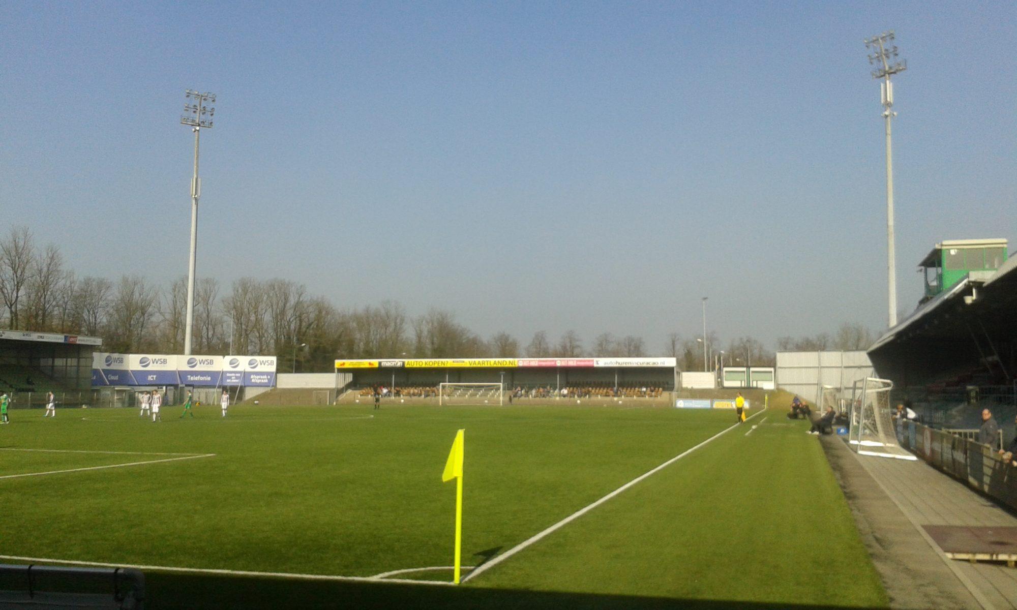 Stadion FC Dordrecht Krommedijk (Foto Wikipedia)
