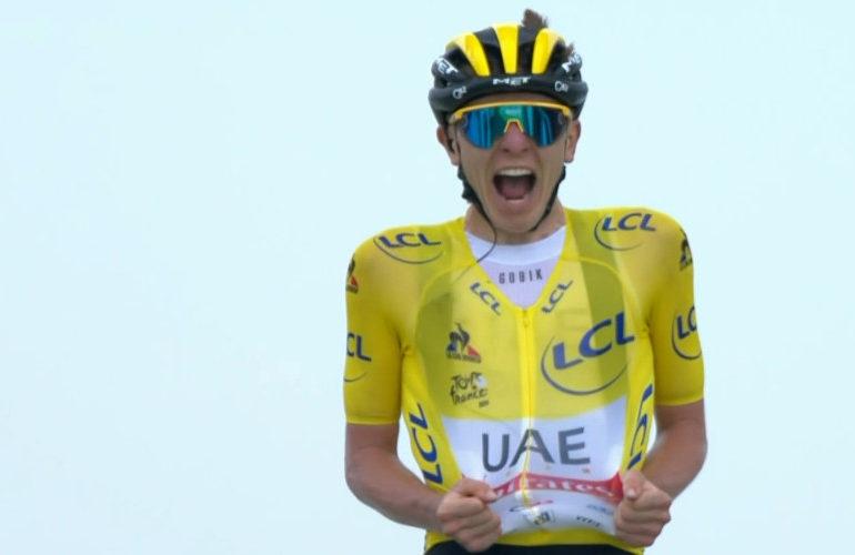 Tadej Pogacar de sterkste in zeventiende etappe