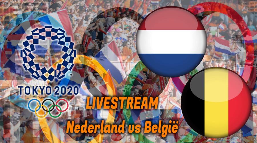Tokio 2020 hockey live stream Nederland - België