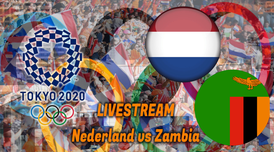 Tokio 2020 live stream Nederland - Zambia
