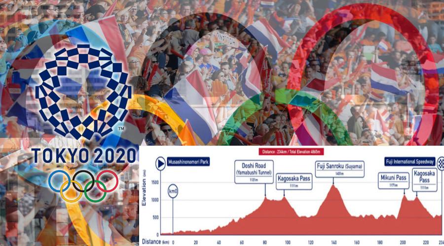 Tokio 2020 wielrennen live stream wegwedstrijd mannen