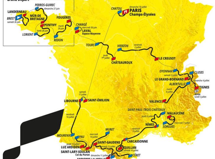 TV-uitzendschema derde week Tour de France