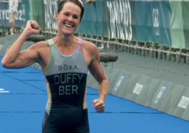 Flora Duffy wint triatlon, Rachel Klamer vierde