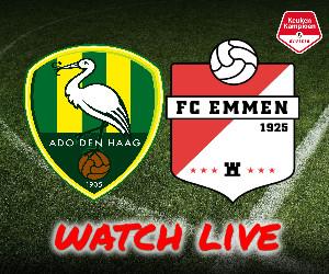 ADO Den Haag - FC Emmen livestream
