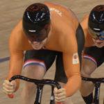 Baanwielrenners veroveren goud op onderdeel teamsprint