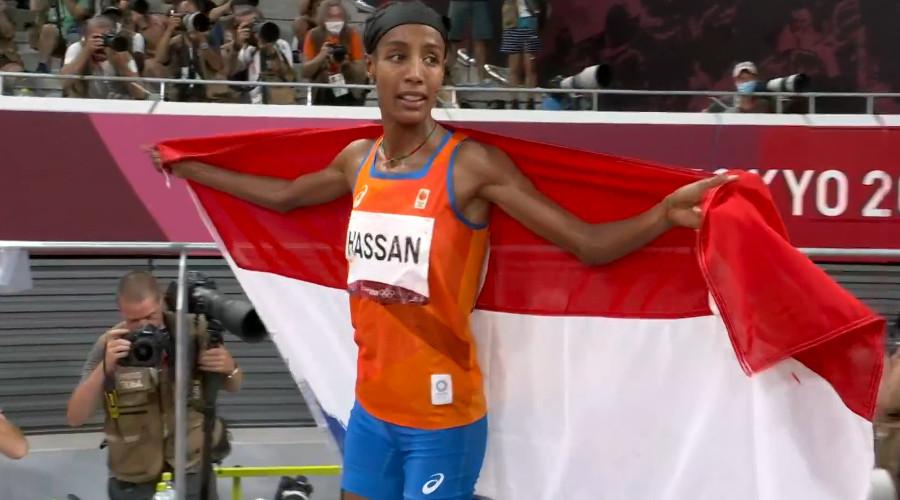 Brons Sifan Hassan op 1.500 meter