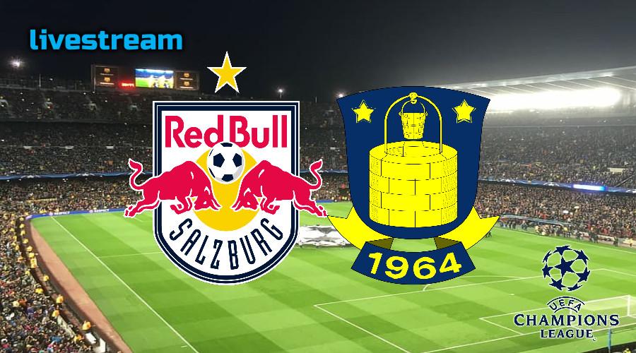 Champions League live stream RB Salzburg - Brondby