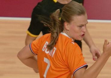 Handbalsters in de kwartfinale tegen Frankrijk