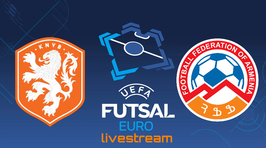 EK Futsal dames live stream Nederland - Armenië