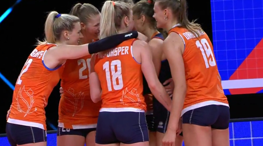 EK volleybal live stream Nederland - Finland