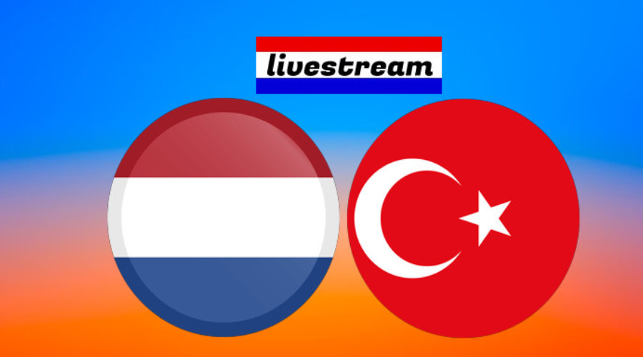 EK volleybal live stream Nederland - Turkije