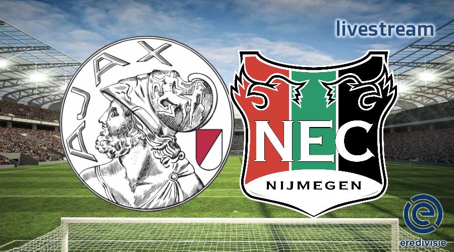 Eredivisie live stream Ajax - NEC