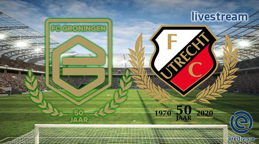 Eredivisie live stream FC Groningen - FC Utrecht