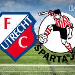 Eredivisie live stream FC Utrecht - Sparta Rotterdam