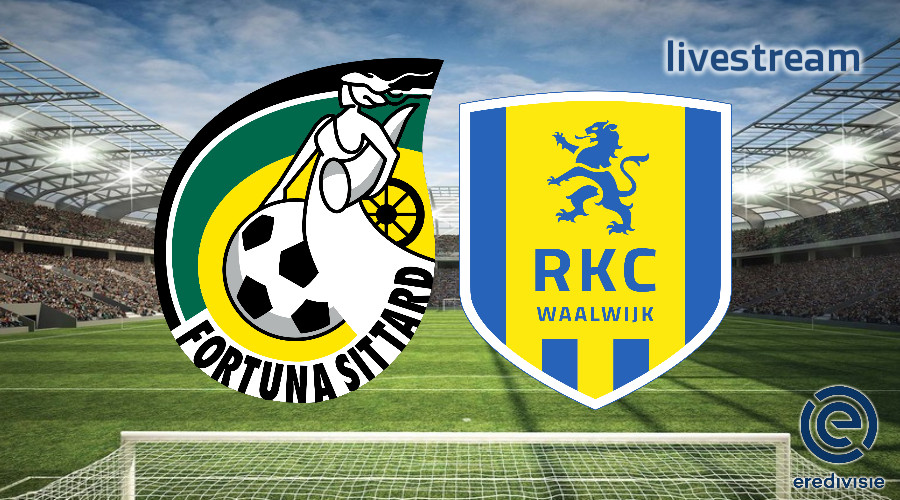 Eredivisie live stream Fortuna Sittard - RKC Waalwijk