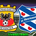 Eredivisie live stream Go Ahead Eagles - SC Heerenveen